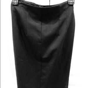 Trina Turk black pencil skirt